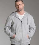 Charles River Apparel 9463 Men's Stratus Hooded Sweatshirt - Oxford Heather Model