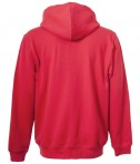 Charles River Apparel 9463 Men's Stratus Hooded Sweatshirt - Red Rear