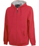 Charles River Apparel 9463 Men's Stratus Hooded Sweatshirt - Red