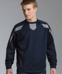 charles-river-apparel-9489-mens-zone-pullover-warmup-top-navy-grey-model-126×150