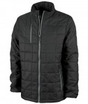 Charles River Apparel 9540 Men's Lithium Quilted Jacket Black Grey