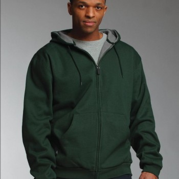 Charles River Apparel Style 9542 Tradesman Thermal Full Zip Sweatshirt 1