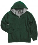Charles River Apparel 9542 Tradesman Full Zip Heavy Duty Sweatshirt - Forest