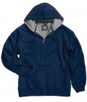 Charles River Apparel 9542 Tradesman Full Zip Heavy Duty Sweatshirt - Navy