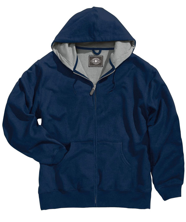 Charles River Apparel Style 9542 Tradesman Thermal Full Zip Sweatshirt