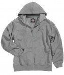 Charles River Apparel 9542 Tradesman Full Zip Heavy Duty Sweatshirt - Oxford Heather