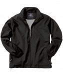 Charles River Apparel 9551 Mens Triumph Polyester Jacket - Black