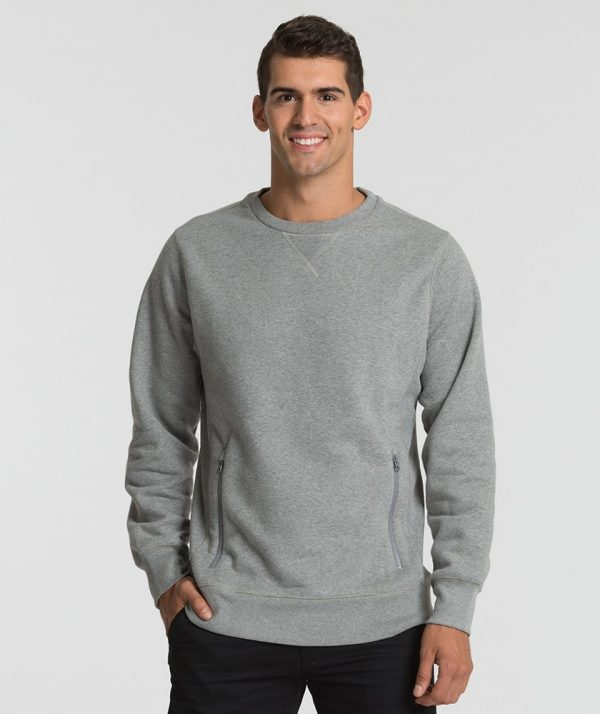 Charles River Apparel 9653 Men's City Long Sleeve Sweatshirt Oxford Heather