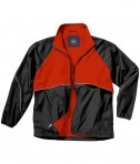 Charles River Apparel 9672 Men's Rival Jacket - Black/Red