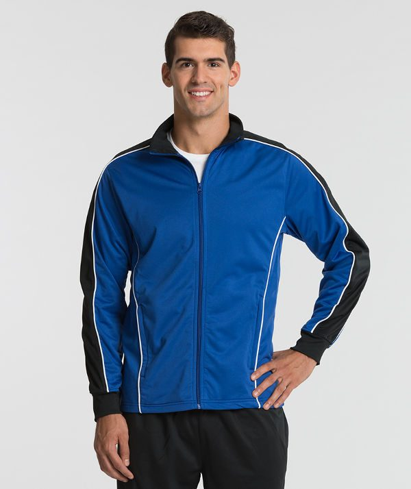 Charles River Apparel 9673 Men's Rev Jacket Royal Black