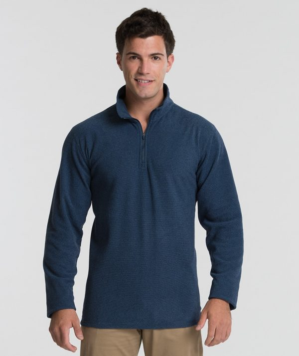 Charles River Apparel 9676 Men's Basin Fleece Blue Ink