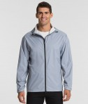 Charles Rive Apparl 9680 Men's Watertown Nylon Full-Zip Jacket - Cloud Color