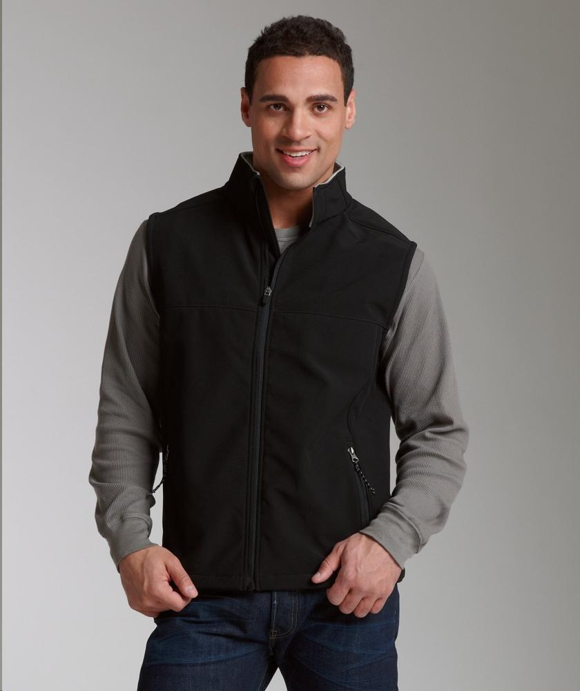 Charles River Apparel Style 9819 Men's Soft Shell Vest 1