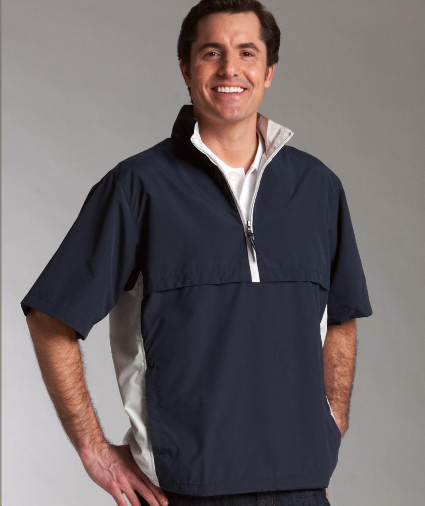 Charles River Apparel Style 9843 Ace Short Sleeve Windshirt 1