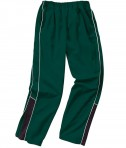 Charles River Apparel 9985 Mens Olympian Pant Forest White Black