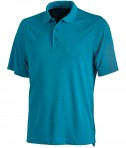 Charles River Apparel Style 3516 Men's Shadow Stripe Polo - Ocean Blue