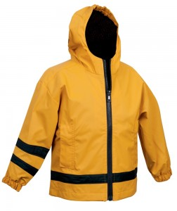 Charles River Apparel Style 6099 Toddler New Englander Rain Jacket - Yellow