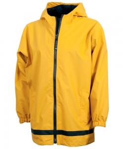 Charles River Apparel Style 8099 Youth New Englander Rain Jacket - Yellow