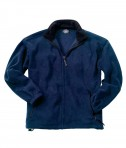 Charles River Apparel Style 8502 Youth Voyager Fleece Jacket - Navy/Black