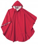 Charles River Apparel Style 8709 Youth Pacific Poncho - Red