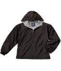 Charles River Apparel Style 8720 Youth Portsmouth Jacket - Black