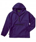 Charles River Apparel Style 8904 Youth Pack-N-Go Pullover - Purple
