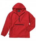 Charles River Apparel Style 8904 Youth Pack-N-Go Pullover - Red