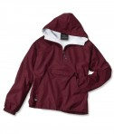 Charles River Apparel Style 8905 Youth Classic Solid Pullover - Maroon