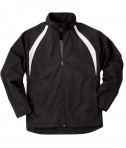 Charles River Apparel Style 8954 Youth TeamPro Jacket - Black/White