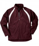 Charles River Apparel Style 8954 Youth TeamPro Jacket - Maroon/White