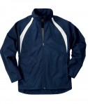 Charles River Apparel Style 8954 Youth TeamPro Jacket - Navy/White
