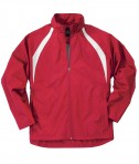 Charles River Apparel Style 8954 Youth TeamPro Jacket - Red/White