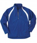 Charles River Apparel Style 8954 Youth TeamPro Jacket - Royal/White
