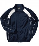 Charles River Apparel Style 8984 Boys' Olympian Jacket - Navy/White