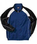 Charles River Apparel Style 8984 Boys' Olympian Jacket - Royal/White/Black