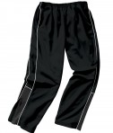 Charles River Apparel Style 8985 Boys' Olympian Pant - Black/White