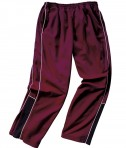 Charles River Apparel Style 8985 Boys' Olympian Pant - Maroon/White/Black