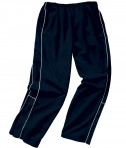 Charles River Apparel Style 8985 Boys' Olympian Pant - Navy/White