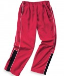 Charles River Apparel Style 8985 Boys' Olympian Pant - Red/White/Black
