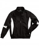 Charles River Apparel Style 9024 Stadium Soft Shell Jacket - Black/White