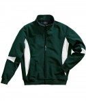 Charles River Apparel Style 9024 Stadium Soft Shell Jacket - Forest/White