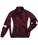 Charles River Apparel Style 9024 Stadium Soft Shell Jacket - Maroon/White