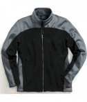 Charles River Apparel Style 9077 Men's Hexsport Bonded Jacket - Black/Grey