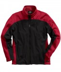Charles River Apparel Style 9077 Men's Hexsport Bonded Jacket - Black/Red
