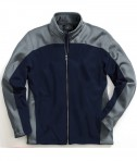 Charles River Apparel Style 9077 Men's Hexsport Bonded Jacket - Navy/Grey