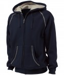 Charles River Apparel Style 9149 Thermal Bonded Sherpa Sweatshirt - Navy