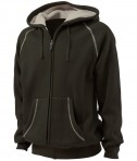 Charles River Apparel Style 9149 Thermal Bonded Sherpa Sweatshirt - Olive