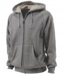 Charles River Apparel Style 9149 Thermal Bonded Sherpa Sweatshirt - Oxford Heather