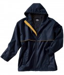 Charles River Apparel Style 9199 Men's New Englander Rain Jacket - True Navy/Yellow