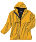 Charles River Apparel Style 9199 Men's New Englander Rain Jacket - Yellow/Navy